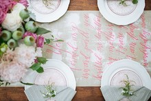 Pink garden baby shower ideas