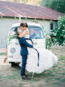 Summer ranch wedding