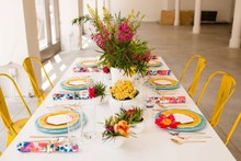 Colorful tablescape inspiration