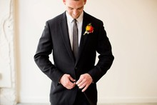 Groom attire