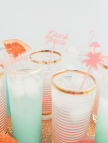 Tropical cocktails