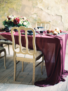 Moody burgundy wedding inspiration