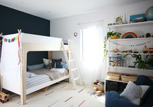 Modern bunk beds and boys room