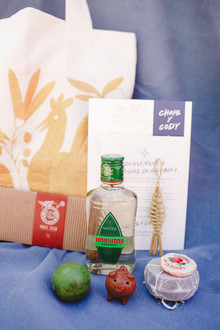 Destination Mexico wedding favors