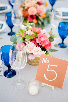 Terracota table number