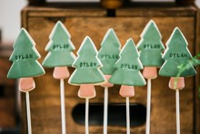 Tree sugar cookies