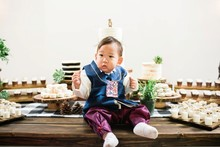 Woodsy 1st birthday Korean Dol