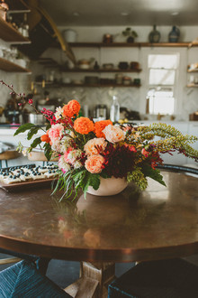fall floral arrangement