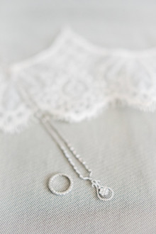 simple bridal accessories shot