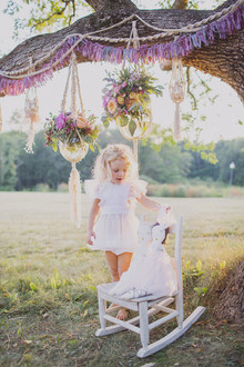 Fairytale childrens tea party