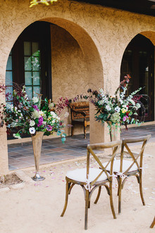 rustic adobe wedding venue