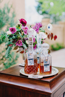wedding whiskey bar