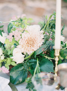 romantic, late summer wedding ideas