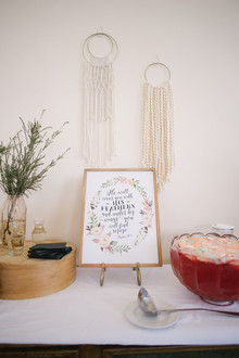 boho baby shower ideas
