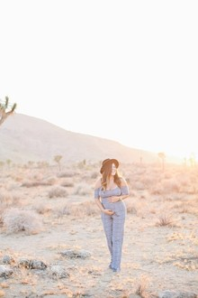 Joshua Tree maternity photos