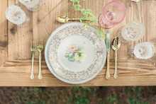 elegant vintage inspired blush wedding inspiration