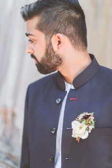 Modern Indian groom