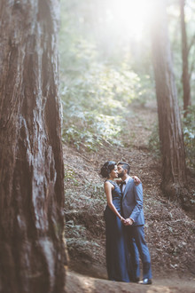 Rustic Bay Area wedding portraits