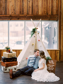 teepee photo booth