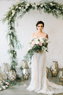 indie feminine wedding inspiration