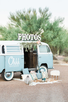 VW van Photo Booth