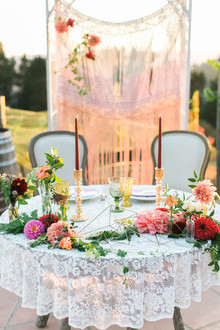 Sweetheart wedding table
