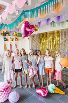 rainbow birthday party ideas