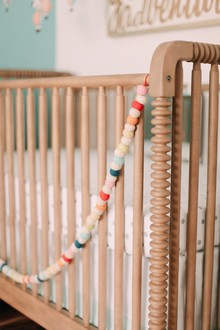 natural jenny lind crib