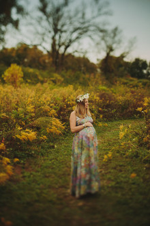 hippie maternity photos