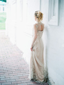 Scarlet and blush bridal inspiration