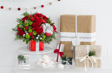Teleflora holiday arrangement