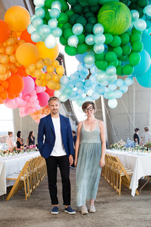 Balloon party decor