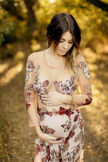 fashionable sexy maternity photos