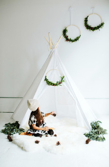 holiday tepee