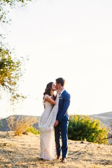 Romantic California ranch wedding