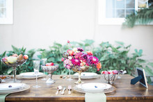 Moroccan-inspired bridal shower