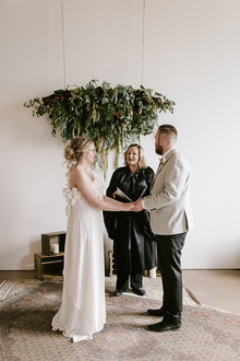 Vintage industrial wedding in Calgary