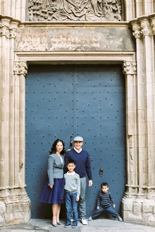 Barcelona family photos