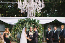 Garden inspired wedding