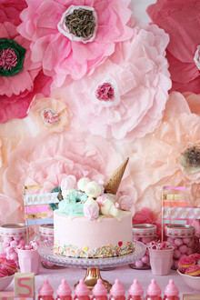 pink birthday party ideas