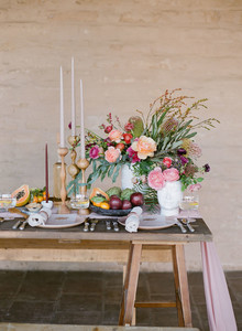 California modern wedding inspiration
