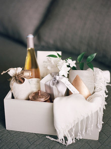 Wedding gift basket