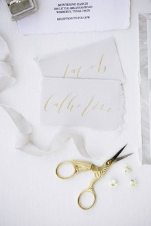 Siver and gold wedding ideas