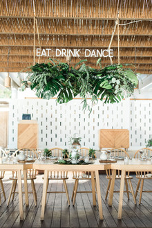 Tropical wedding ideas