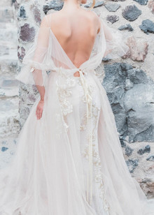 Tara Lauren wedding gown