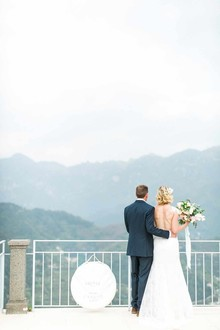 Amalfi coast wedding at Hotel Caruso