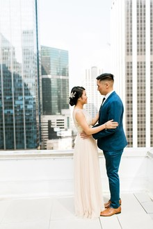 Modern DIY wedding in Chicago