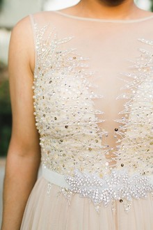 DIY bridal belt
