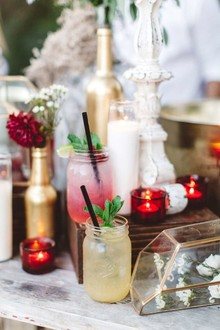 Mason jar cocktails
