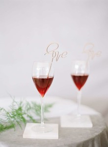Romantic drink stirrers